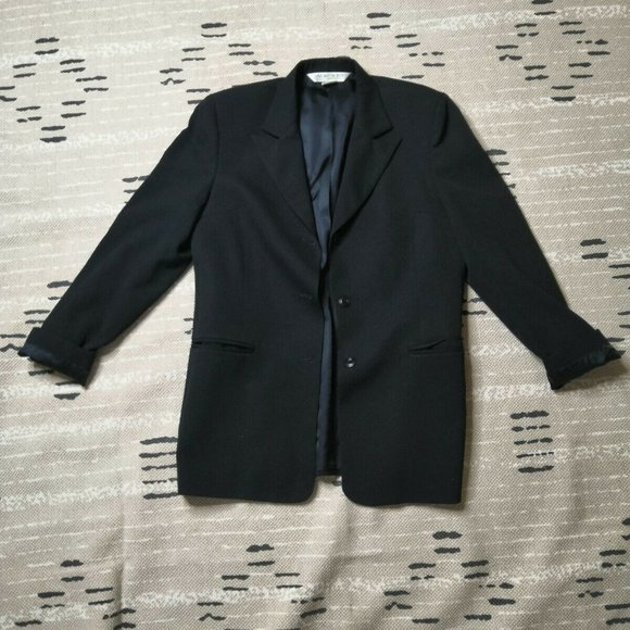 Austin Reed Jackets Coats Austin Reed 3 Button Blazer 8 Med Wool Black Poshmark